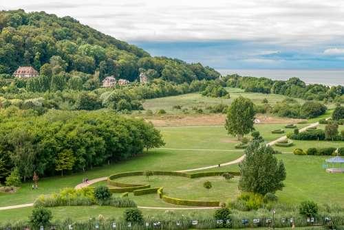 Landscape Sky Honfleur France Normandy Park Sea