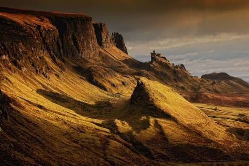 Landscape Scotland Nature Highlands And Islands