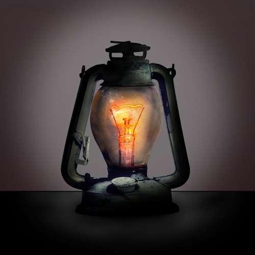 Lantern Lamp Filament Light Bulb Mood Light