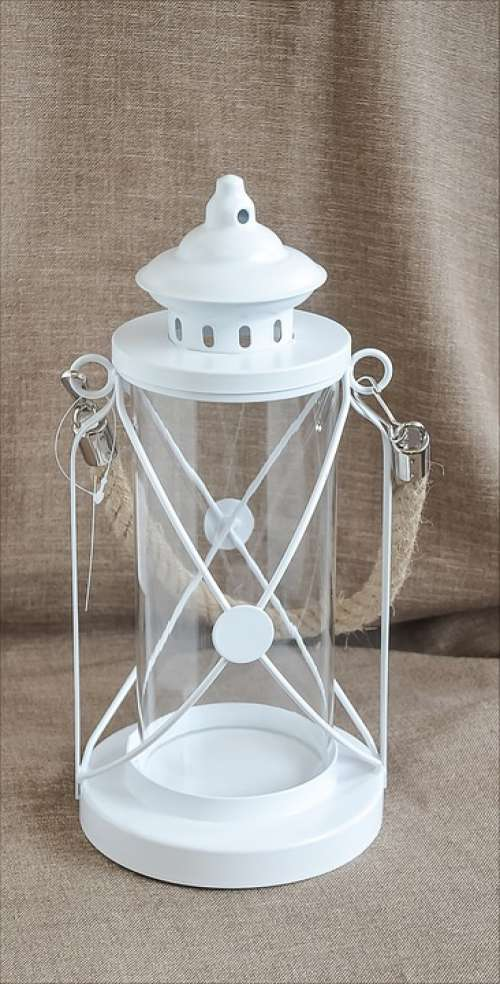 Lantern Christmas White Decor Mood Light Gift