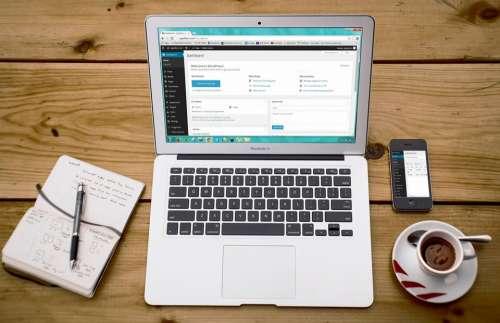Laptop Wordpress Wordpress Design Smartphone