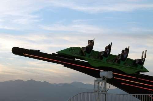 Las Vegas Altitude Roller Coaster Sky Stratosphere