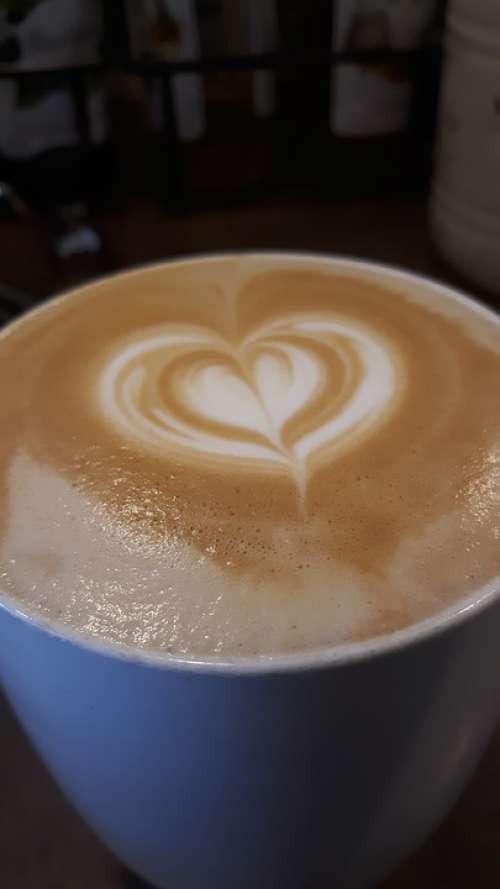 Latte Coffee Latte Art Beverage Art Brown White