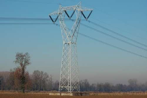 Lattice High Voltage Trellises Energy Electric
