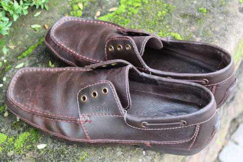 Leather Shoes Shoes Fashionable Shoelace Lost
