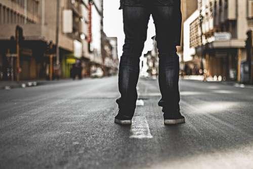 Legs Street Alone Challenge Loner City Urban
