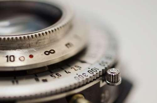 Lens Shutter Aperture Infinity Focus Vintage