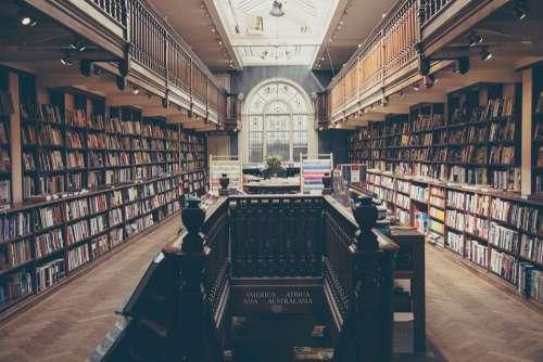 Library Books Education Literature School