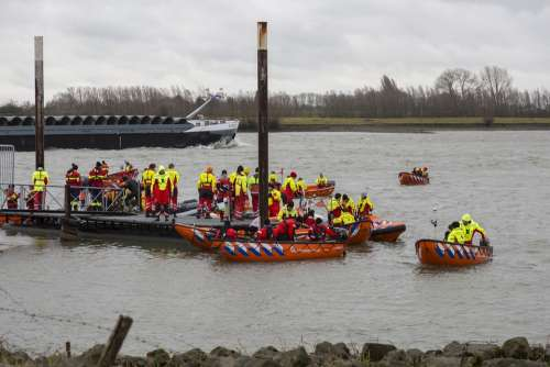 Lifeboats River Boat Lifeboat Ship Rescue