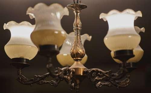 Light Chandelier Lighting Ceiling Interior Room