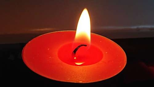 Light Flame Hot Candlelight Heat Candles Volcano