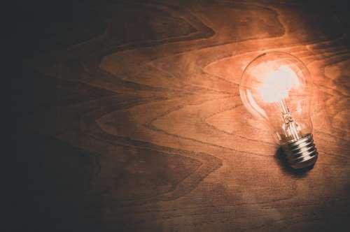 Light Bulb Lightbulb Light Bulb Energy Electricity
