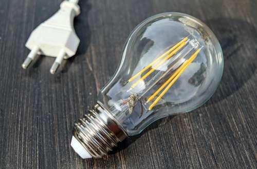 Light Bulb Pear Light Energy Bulbs Electric