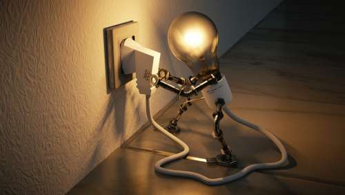 Light Bulb Idea Self Employed Enlightenment