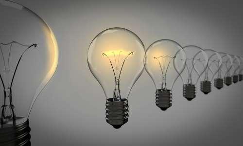 Light Bulbs Chosen Bulb Light Group Idea Choice