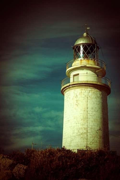 Lighthouse Mallorca Cap De Formentor Sea Coast