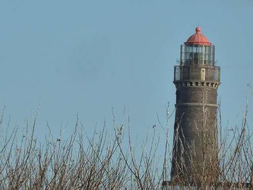 Lighthouse Borkum Beacon Island Shipping