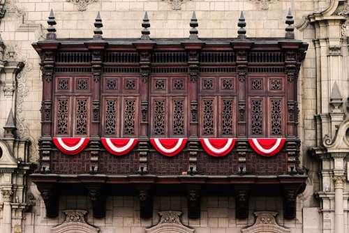 Lime Historic Centre Peru Culture Balcony Historic