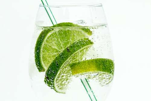 Lime Club Soda Drink Cocktail Juice Cold Glass