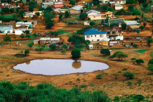 Limpopo Village Rural Mountain Countryside