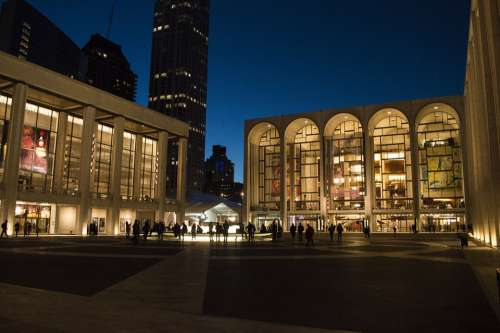 Lincoln Center Lincoln Center Nyc New York