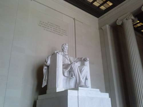 Lincoln Memorial Abraham Lincoln Washington Dc Dc