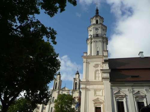 Lithuania Kaunas Church Town Hall