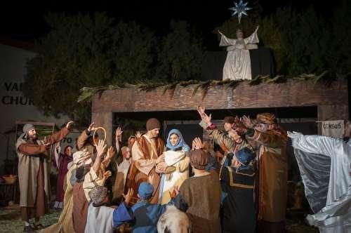 Living Nativity Nativity Creche Christmas