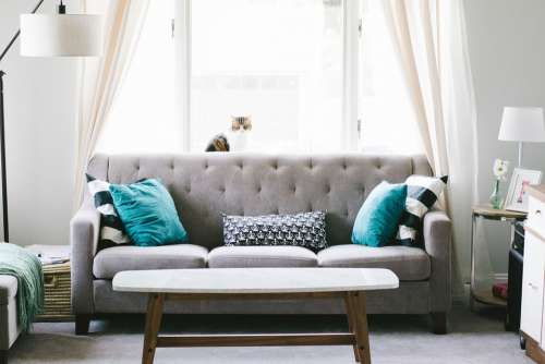 Living Room Sofa Couch Interior Design Decoration