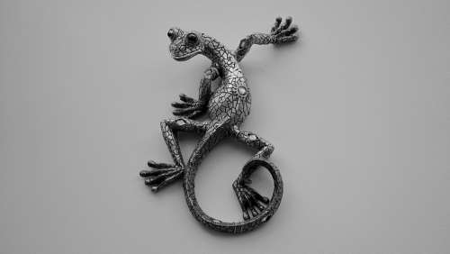 Lizard Ornamental Ornament Decorative Reptile