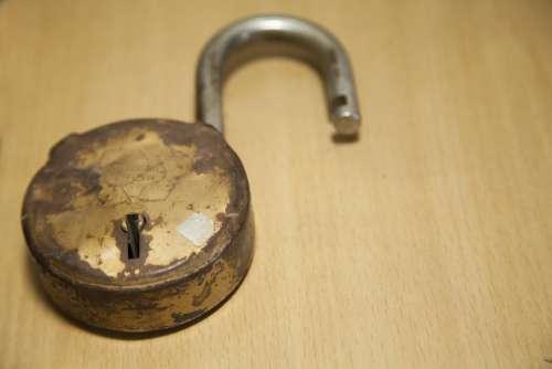 Lock Broken Lock Old Lock Weathered Lock
