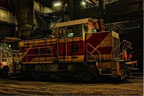 Locomotive Switcher Loco Rails Hdr Railway Train
