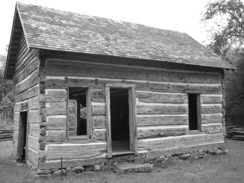 Log Cabin Old Cabin Log House Home Wood Timber