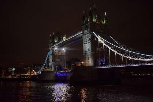 London Tower Bridge Bridge Monument