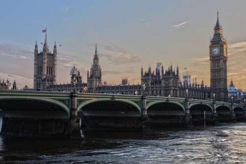 London Parliament England Ben Ben Westminster