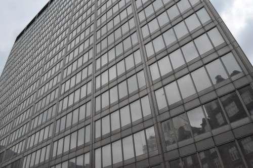 London Architect Glass Reflections