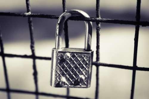 Look Silver Lock Locked Silver Security Secret