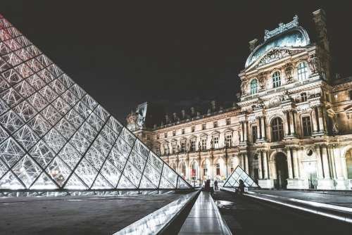 Louvre Museum Paris Attraction Landmark