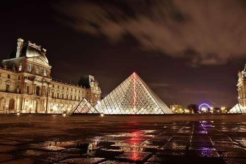 Louvre Paris France Architecture Art Building