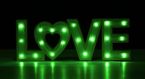 Love Shining Light Mood Romance Heart Valentine