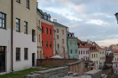 Lublin Houses Color Old Town Itinerary At Home