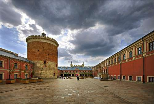 Lublin Architecture City Monument Tourism Holidays