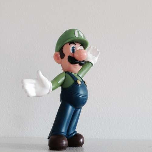 Luigi Mario Character Figure Toys