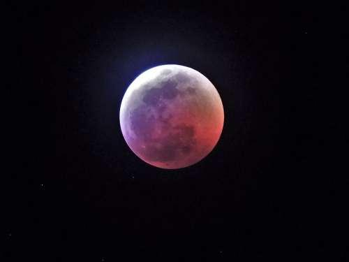 Lunar Eclipse Moon Blood Moon Wolf Moon