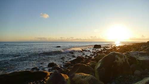 Madeira Sunset Sea Landscape Nature Sky Water