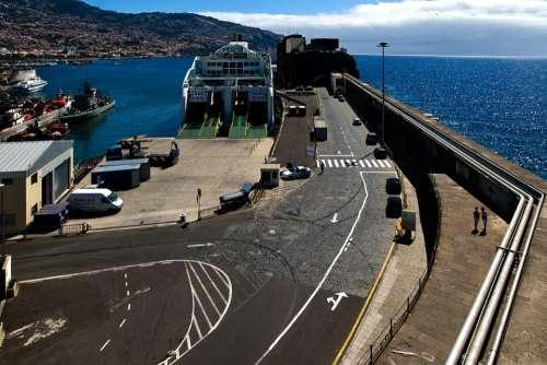 Madeira Funchal Port Ship