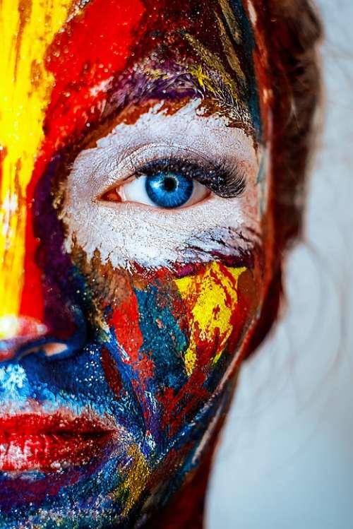 Makeup Face Woman Portrait Girl Female Cosmetics