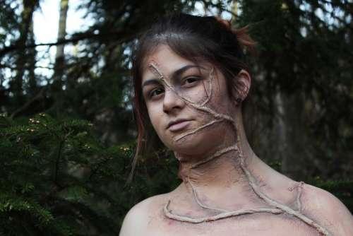 Makeup Monster Forest Forest Monster Root Make Up