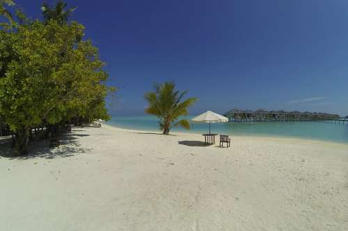 Maldives Beach Idyll Resort Holiday Resort Island