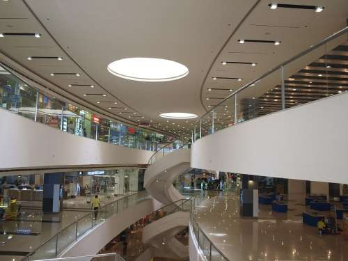 Mall Interior Architecture Shopping Commercial